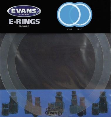 "EVANS ER-SNARE Кольца для глушения на малый барабан 14"" E-RING"
