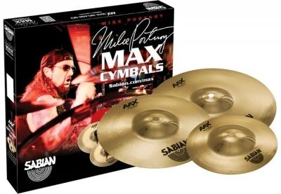 SABIAN MAX SPLASH SET AAX Набор из 3 тарелок Сплэш Mike Portnoy