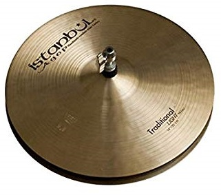 ISTANBUL AGOP LH15 TRADITIONAL Light Hi-Hats 15""