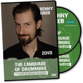Hudson Music Benny Greb The Language Of Drumming - 2 DVDs