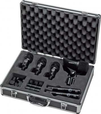 AKG GROOVE PACK Комплект Микрофонов Perception для барабанной установки