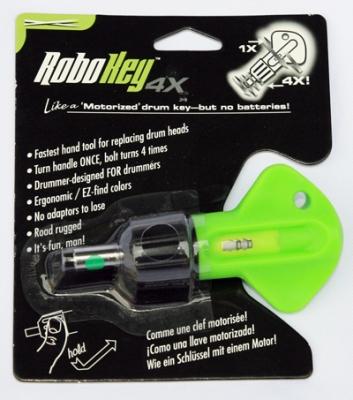 ROBOKEY 4X ключ барабанщика для быстрого выкручивания винтов из барабанов