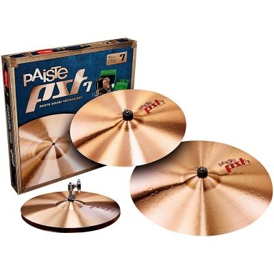 "PAISTE PST 7 SET Набор тарелок (Hi-hat 14"", Crash 16"", Ride 20"")"