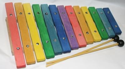 SINKOPA SPXK-1Ксилофон детский, цветной