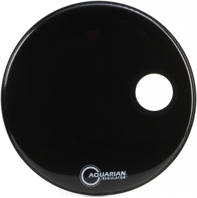 Aquarian Regulator Black with Hole