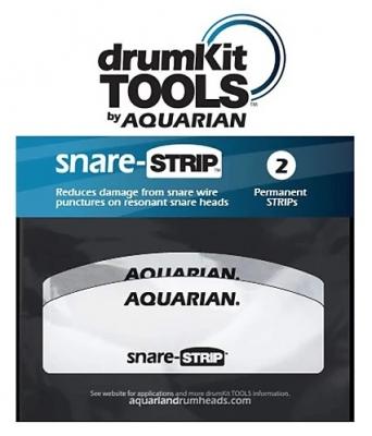 Aquarian ST4 Snare Strip защитные наклейки на нижний пластик малого барабана