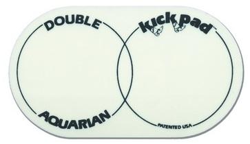 Aquarian DKP2 Наклейка под две колотушки на пластик бас-барабана