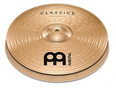 "MEINL C14PH 14"" Powerful Hi-Hat Classics"