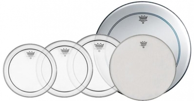 """REMO PINSTRIPE PRO PACK 22"""" 10"""" 12"""" 14"""" 14"""""""