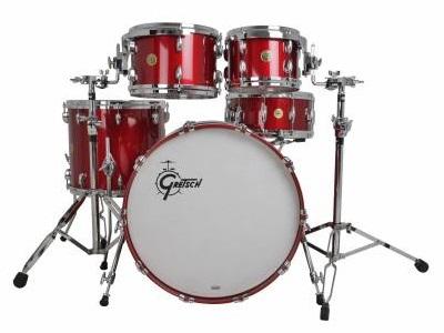 GRETSCH USA Custom Барабанная установка Candy Apple Red