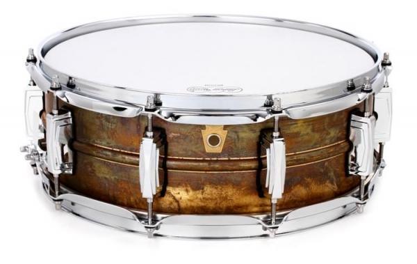 "LUDWIG LB454R 14""x5"" Raw Brass Phonic Малый барабан"