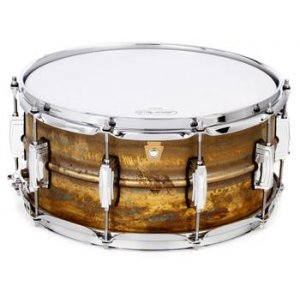 "LUDWIG LB464R 14""x6.5"" Raw Brass Phonic Малый барабан"