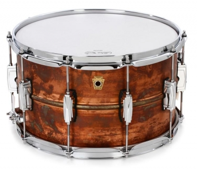 "Ludwig LC608R Малый барабан 14""x8"" Raw Copper Phonic"
