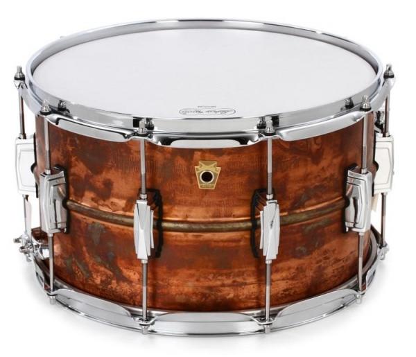 "Ludwig LC608R Малый барабан 14""x8"" Raw Copper Phonic"