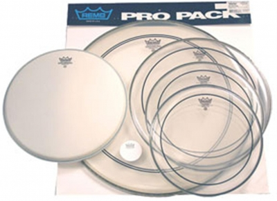 "REMO PINSTRIPE PRO PACK 22"" 12"" 13"" 16"" 14"""