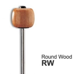 Pro Mark RW ROUND WOOD деревянная колотушка для педали бас-барабана