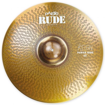 "Paiste 22"" Power Ride The Reign RUDE"
