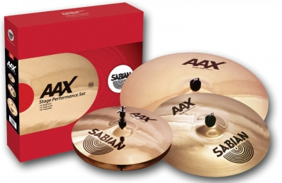 SABIAN AAX Stage Performance Set Набор тарелок