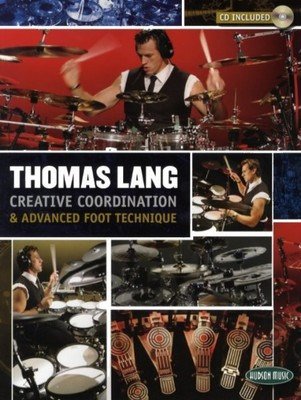HUDSON Thomas Lang: Creative Coordination And Advanced Foot Technique книга + CD