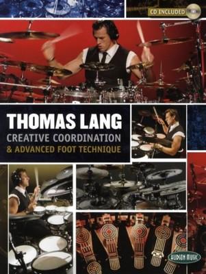 HUDSON Thomas Lang: Creative Coordination And Advanced Foot Technique книга + CD