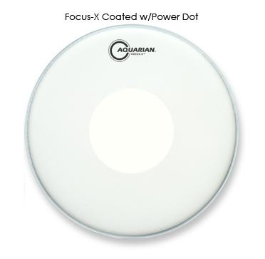 Aquarian Focus-X Coated with Dot TCFXPD 13""