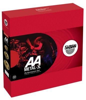 SABIAN AA Performance Set Metal-X Набор тарелок