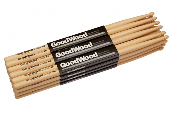 Vater GWRW Блок из 12 пар палочек Goodwood Rock