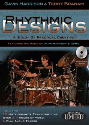 Hudson Music Gavin Harrison Rhythmic Designs BOOK + DVD