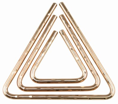 SABIAN Hard Hammered Bronze Triangle