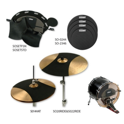 EVANS SOSETFSN SoundOff Fusion Набор тренировочных заглушек